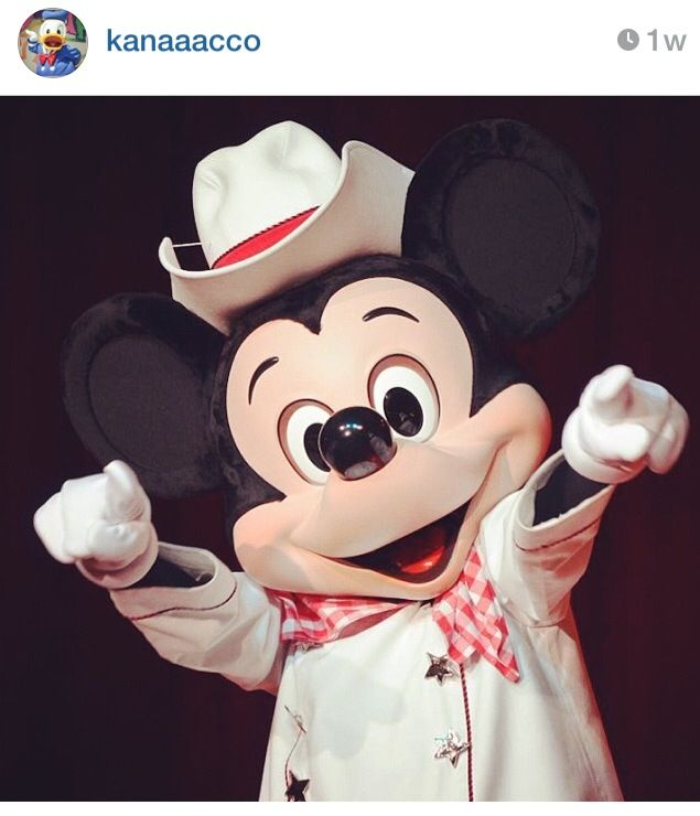 Western Mickey! Giddy up!