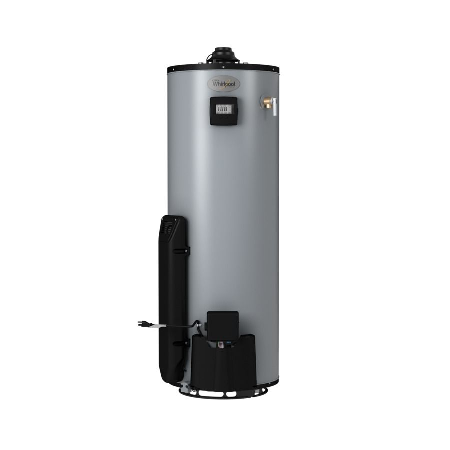 Whirlpool 50 Gallon 12 Year Limited Residential Tall Natural Gas Water Heater Windsor Court Improvement Natural Gas Water Heater Water Laundry Room