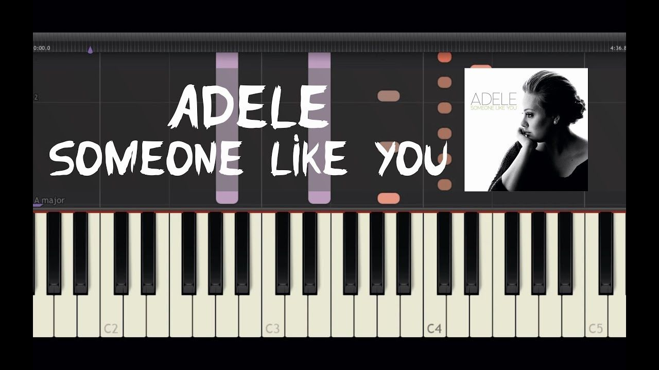 Adele someone like you piano tutorial by amadeus synthesia adele someone like you piano tutorial by amadeus synthesia baditri Image collections