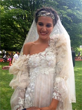 Margherita Missoni on her wedding day - so maj!