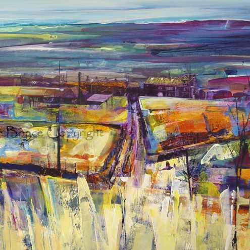 View from Hotstones Hill - Kate Boyce