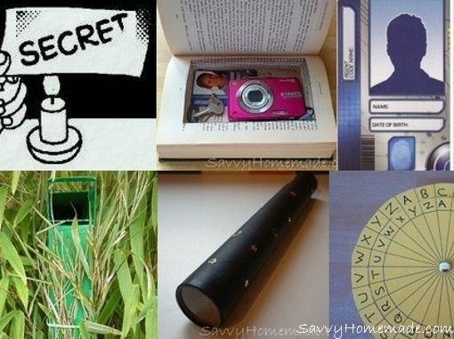 homemade spy gear | Spy gadgets | Pinterest | Spy party ...