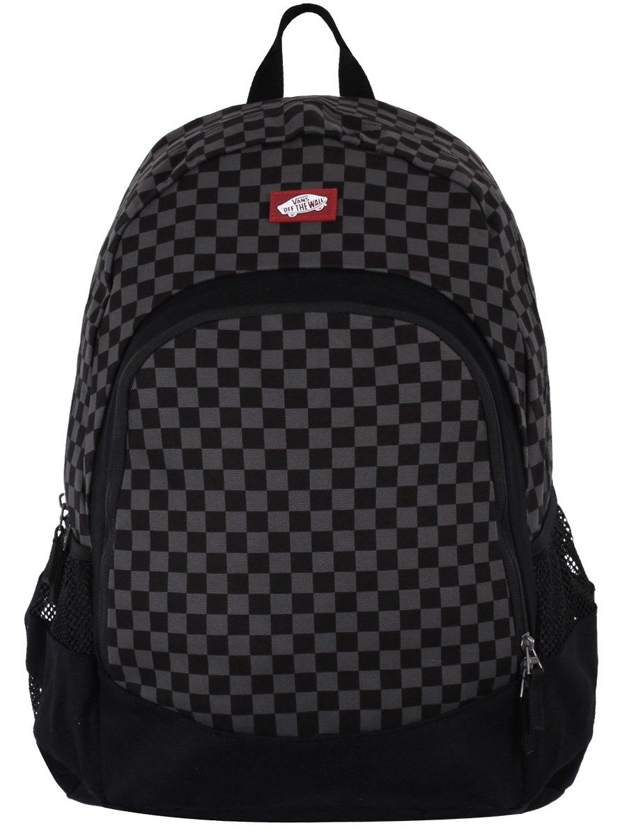 84604bbcd9 Vans Backpack - Van Doren Black Charcoal - Buy Online at Grindstore.com