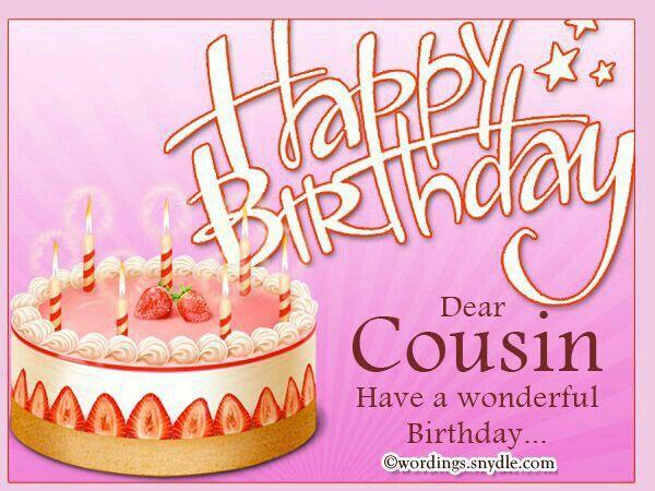 Happy Birthday Cuz With Images Happy Birthday Cousin Cousin
