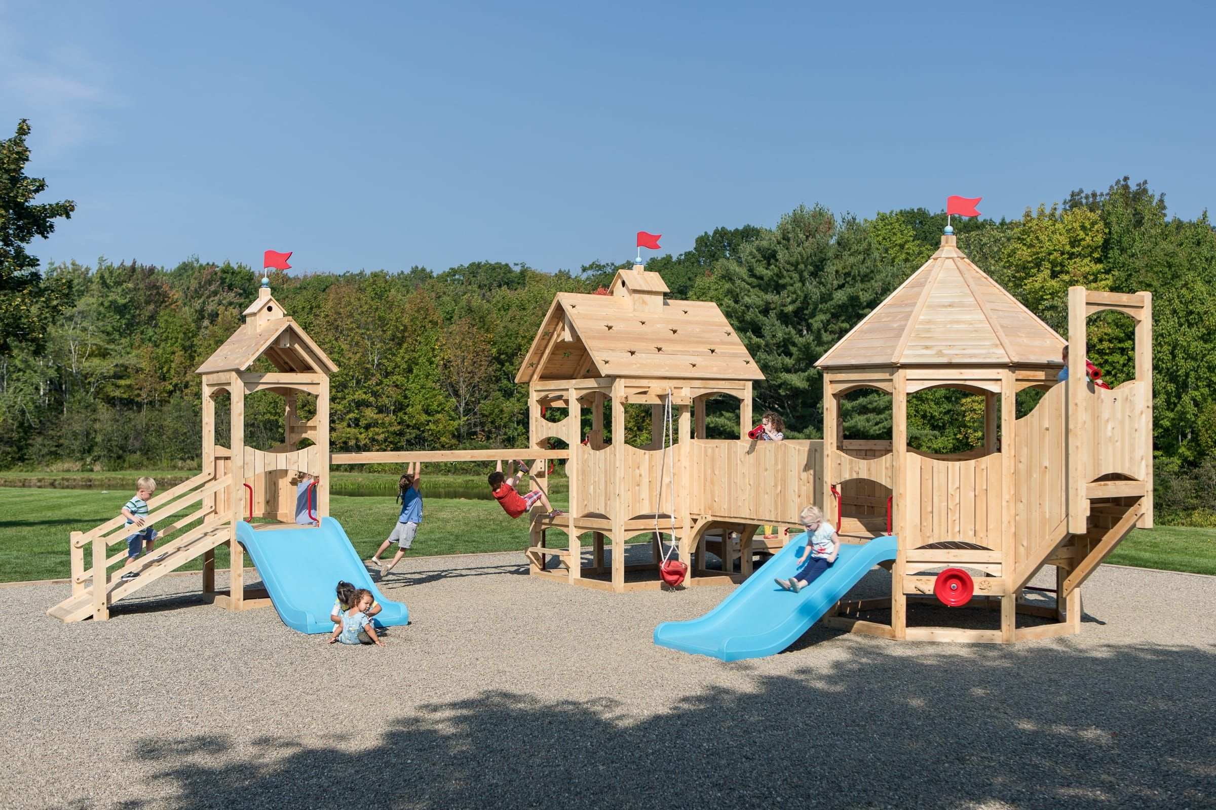 Commercial Outdoor 620 Cedarworks Playsets Playset Outdoor Outdoor Playset