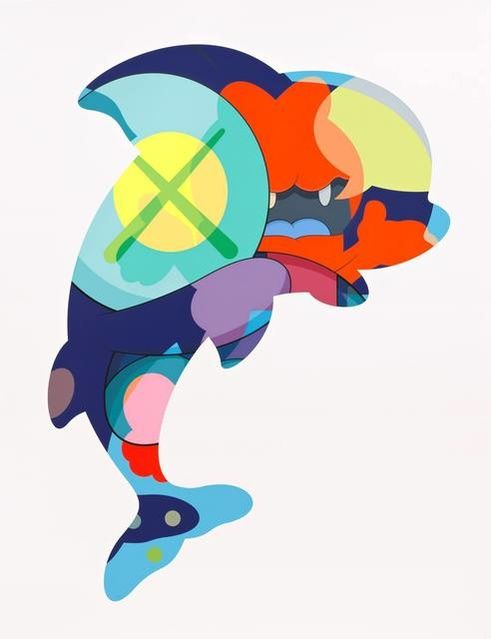 reproduction KAWS Piranhas When You/'re Sleeping poster urban street Pop Art