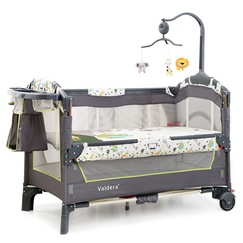 2017 Multi Function Folding Baby Bed European Portable Game Bed