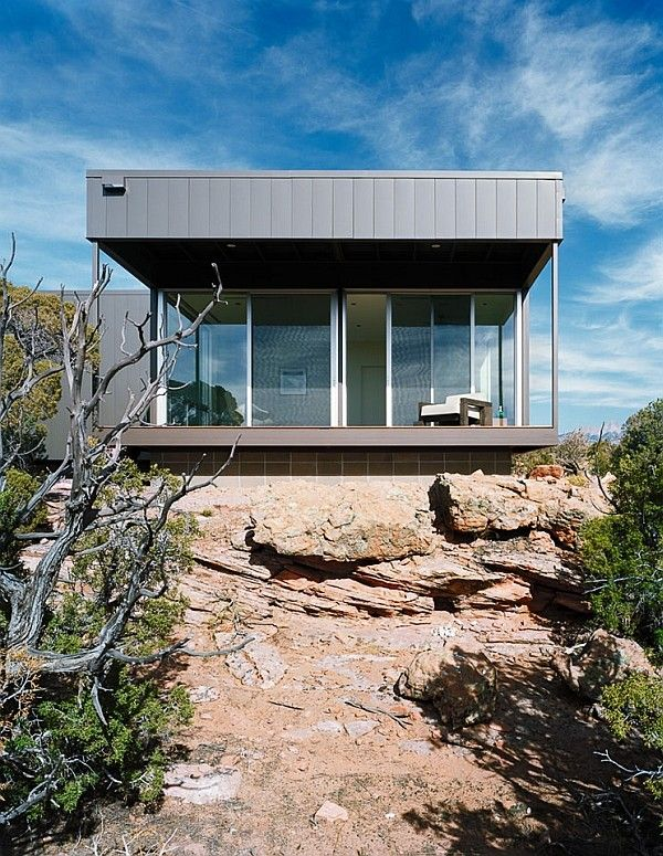 Metallic Structure Homes With Stunning Design Modern Prefab Homes Prefab Modular Homes Modern House Plans