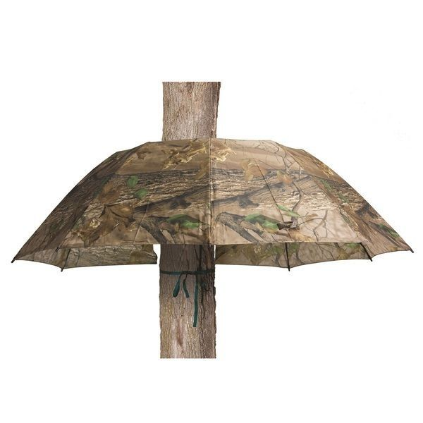 Camo Tree Stand Umbrella Hunting Blind Sun Shade Treestands Ladderstands Gear Tree Stand Accessories Big Game Pop Up