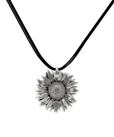Look at this zulilyfind sterling silver sunflower pendant necklace sterling silver sunflower pendant necklace zulilyfinds aloadofball Gallery