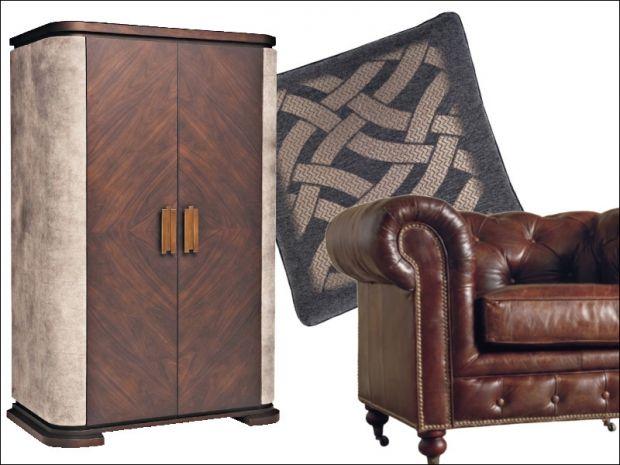 Smoking room color cuoio e sfumature tabacco mcmaison for Color tabacco mobili