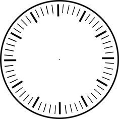 image about Printable Clock Faces called Clock Facial area Printable Clock Faces - ClipArt Excellent