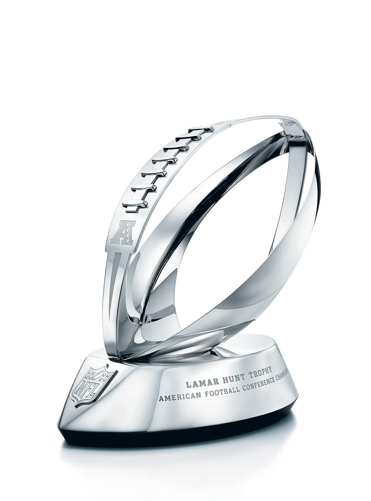 Tiffany & Co. proudly crafted the Lamar Hunt trophy