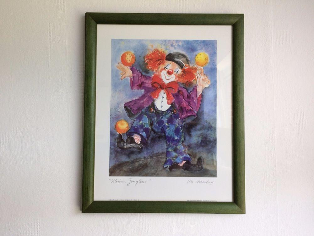 Details zu Ute Mertens - Kleiner Jongleur - Vintage Kunst - Druck ...