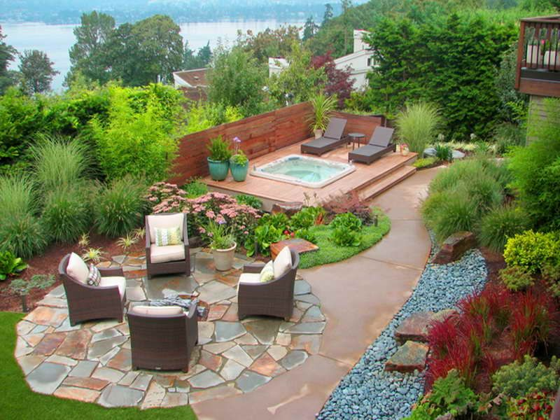 Southwestern landscape designs photo above is section for Best apps for garden and landscaping designs