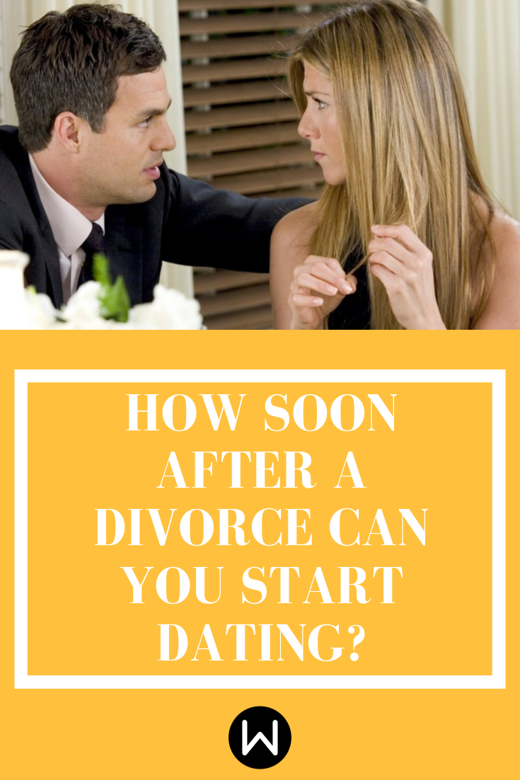 how soon should you start dating after a divorce