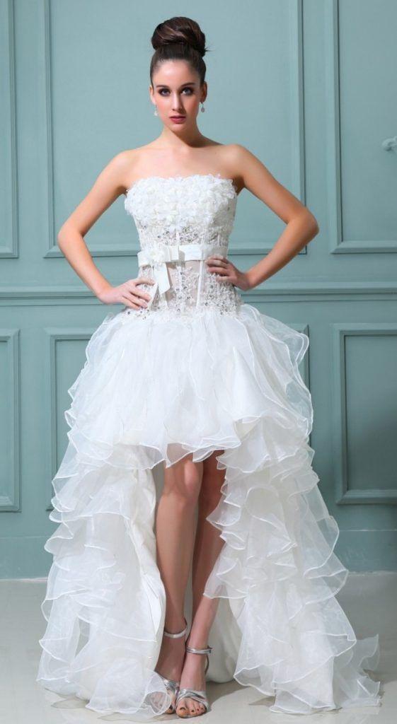 20 Superb Strapless Wedding Dresses Ideas   Strapless wedding ...