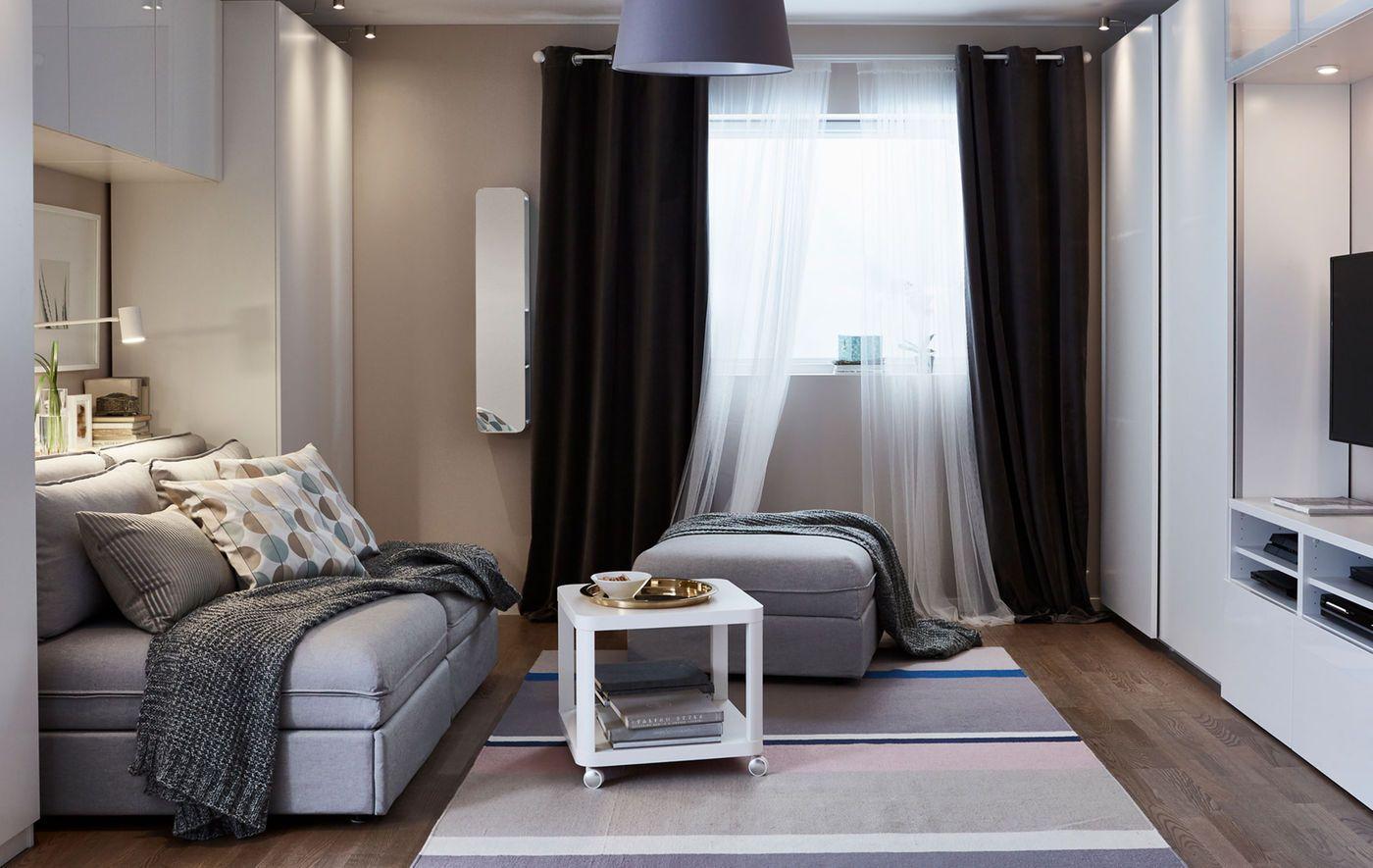 Créez un séjour, une chambre, une salle à manger et un