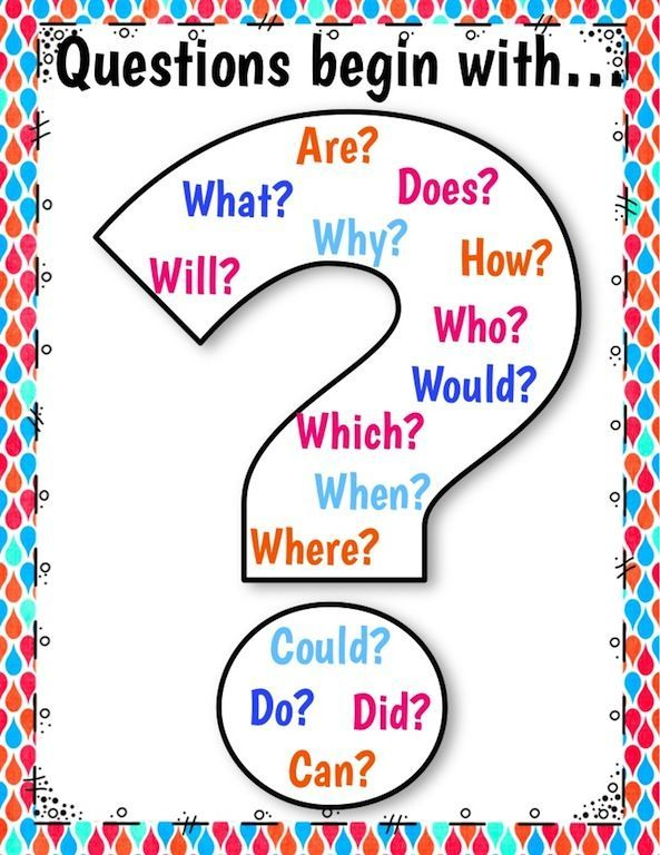 Question Stems Anchor Chart | Questioning anchor chart ...