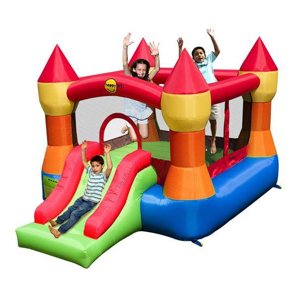 Jeux en plein air maison pour enfant ch teau trampoline gonflable par - Prix chateau gonflable ...