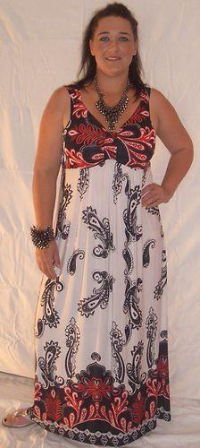 ac2e9670a18 Plus size maxi dresses size 16