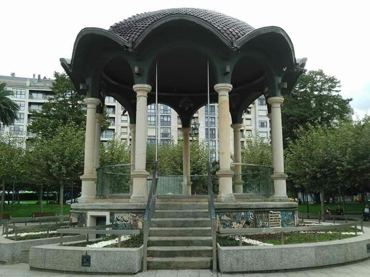 Kiosko del parque