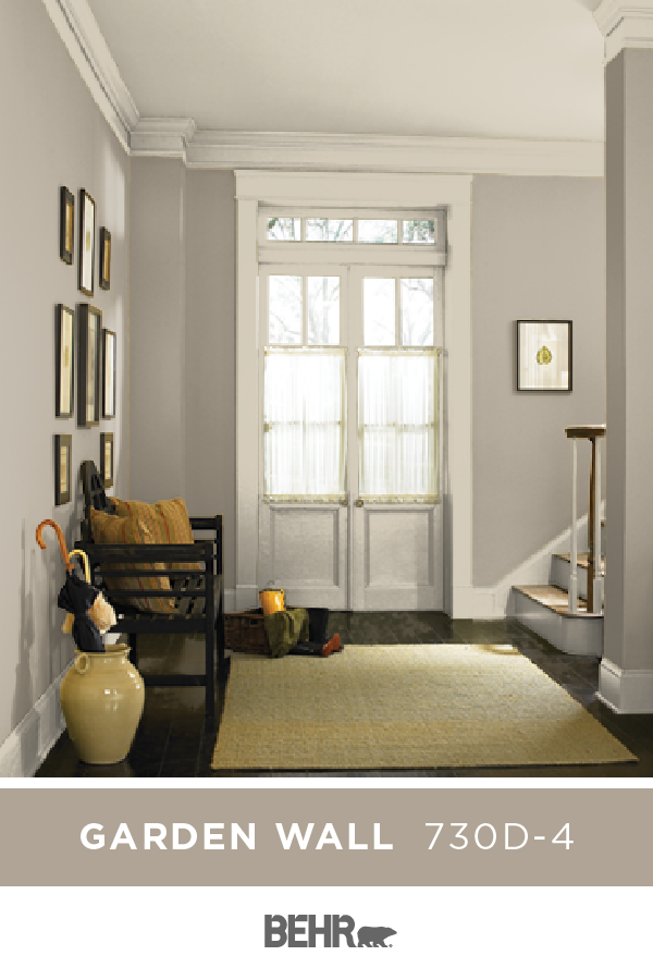 Make Your Front Entryway Shine With A New Coat Of Behr Paint In