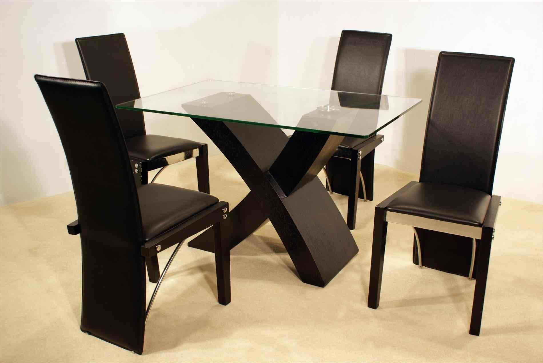 Gorgeous Ideas For 4 Person Dining Room Set Breakpr Glass Top Dining Table Kitchen Table Settings Glass Dining Table Set