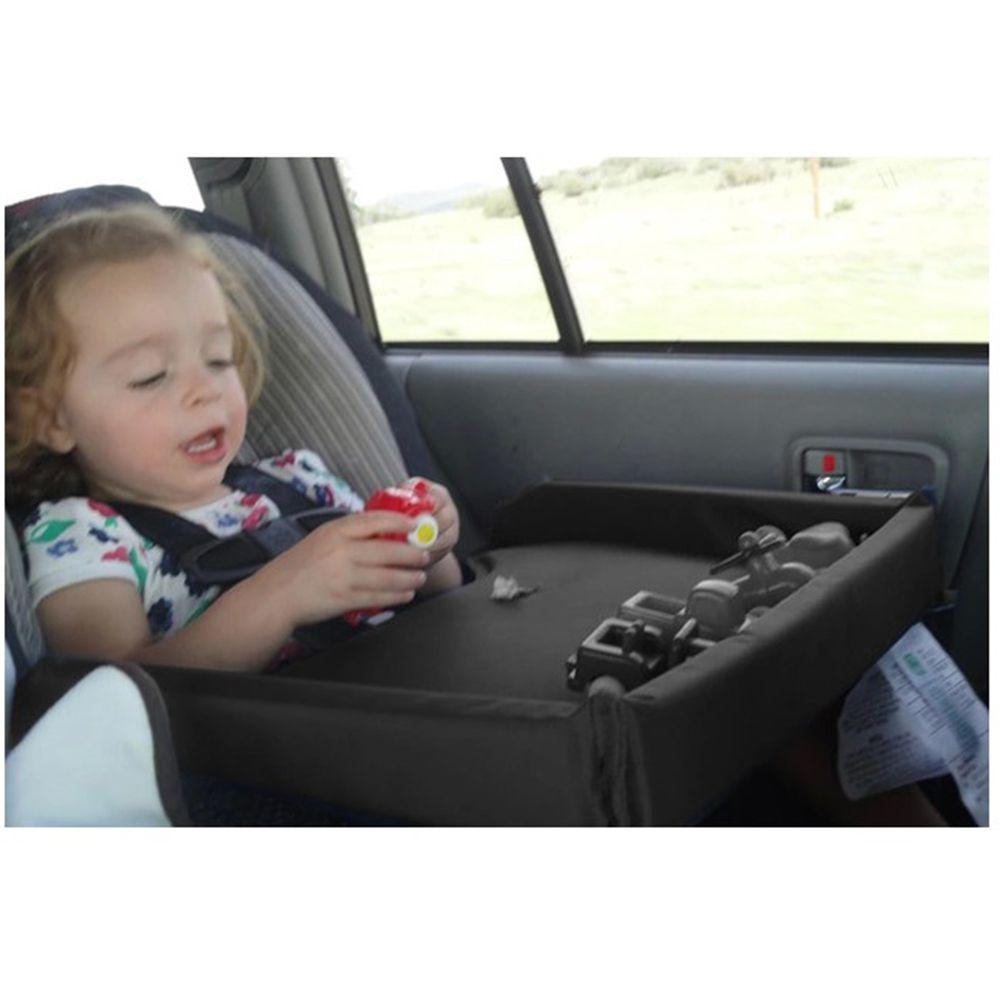 어린이 자동차 안전 벨트 여행 플레이 트레이 방수 테이블 아기 유아 자동차 시트 커버 하네스 버기 유모차 TV Laptray