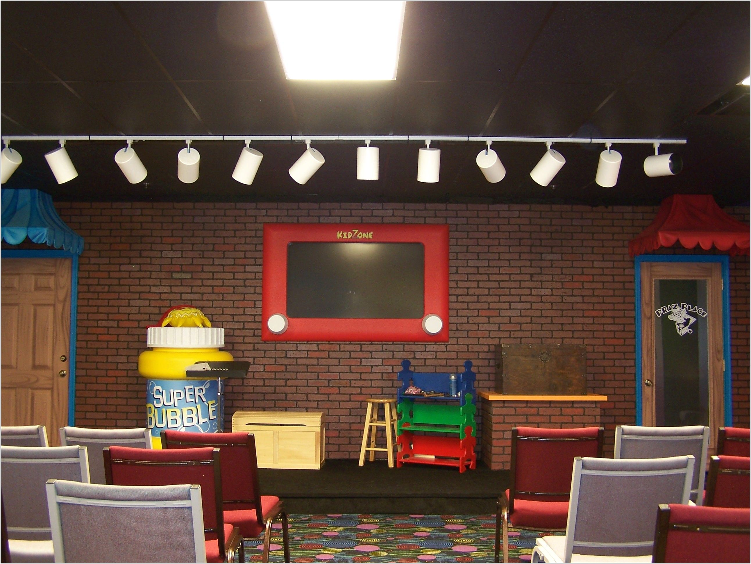 children's church room decorating ideas