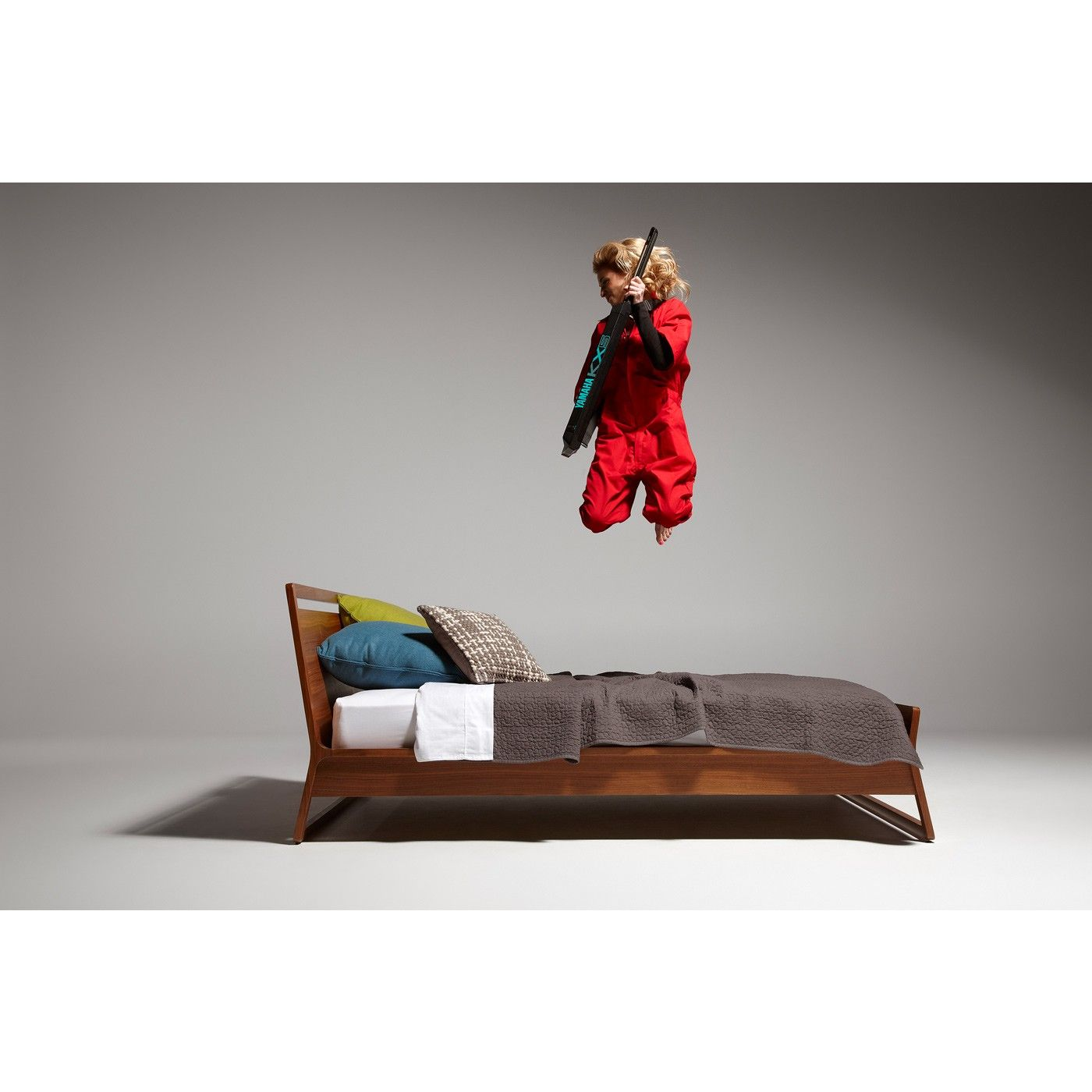 c490f4b24 Woodrow Queen Bed | For Design's Sake | Bed, Modern wood bed, Full bed