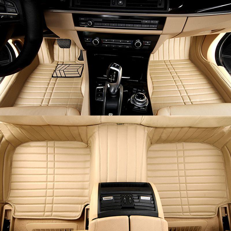 Custom Fitting Car Floor Mats For Chevrolet Camaro Spark Car Mat Pvc Leather Interior Accessories Auto Carpets Set Interior Accessories Car Floor Mats