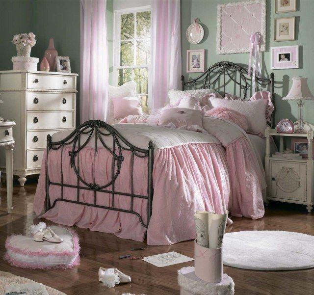 Dormitorio juvenil estilo vintage dormitorio pinterest - Dormitorio estilo vintage ...