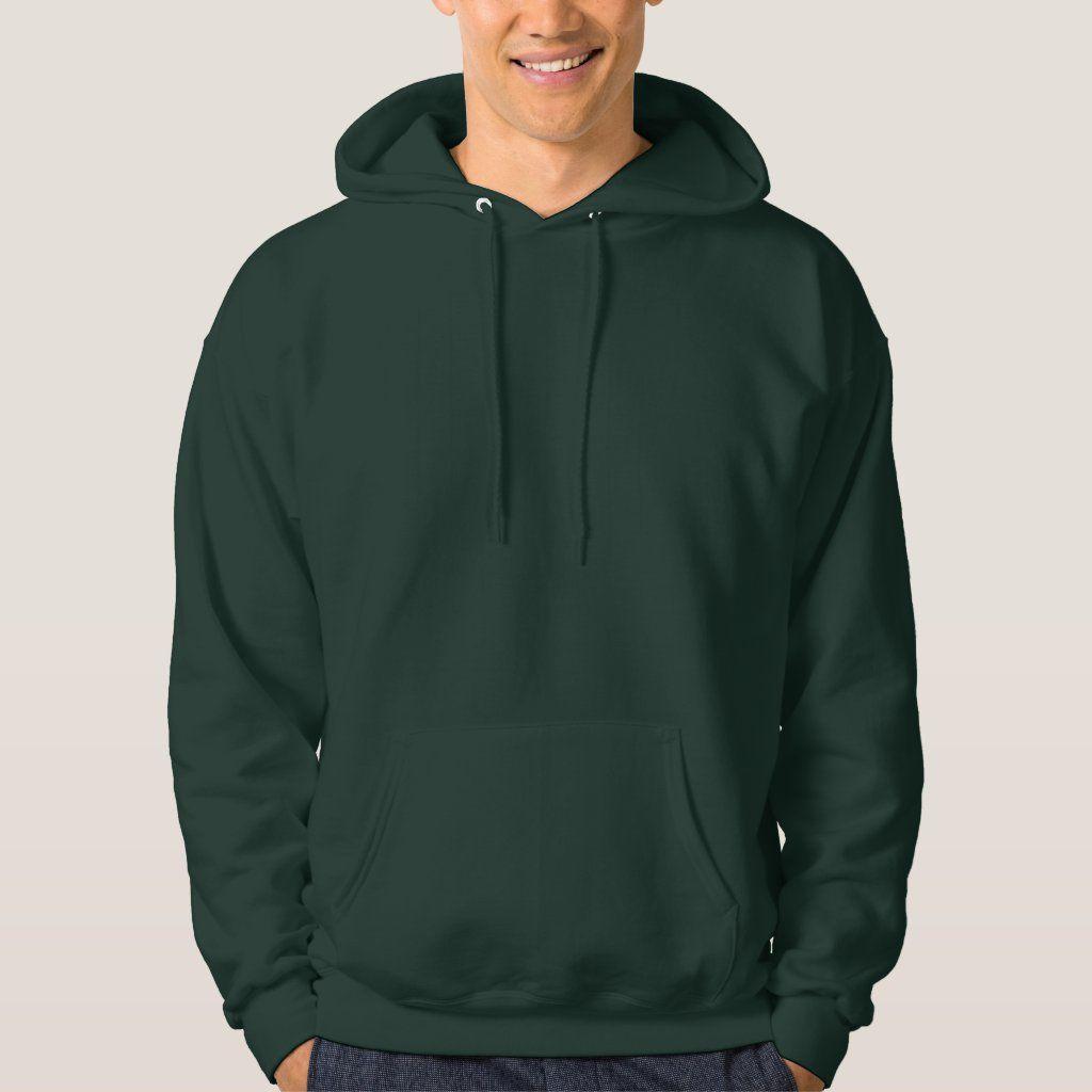 Dark Green Men S Basic Hooded Sweatshirt Zazzle Com In 2021 Sweatshirts Hoodie Hooded Sweatshirts Hooded Sweatshirt Men [ 1024 x 1024 Pixel ]