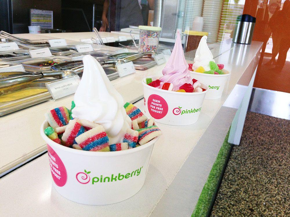 Pinkberry Frozen Yogurt With Sugarpova Flirty Sour Smitten Sour