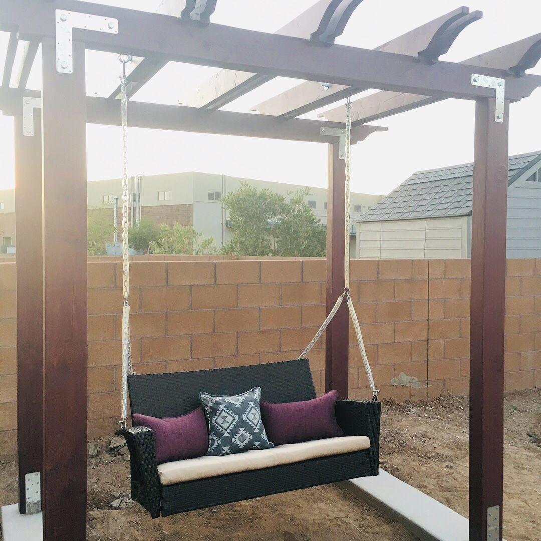 Diy arbor swing project diy arbour outdoor decor