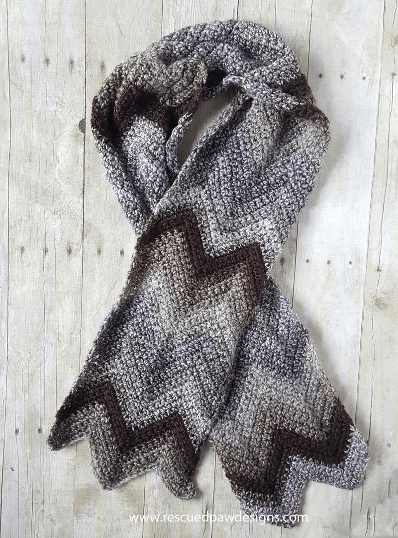 Free chevron crochet scarf pattern free crochet scarf patterns crochet chevron scarf pattern free crochet scarf pattern using the chevron stitch bankloansurffo Choice Image