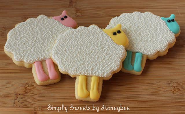 Simply Sweets by Honeybee: Easter Eggs & Sheep Cookies