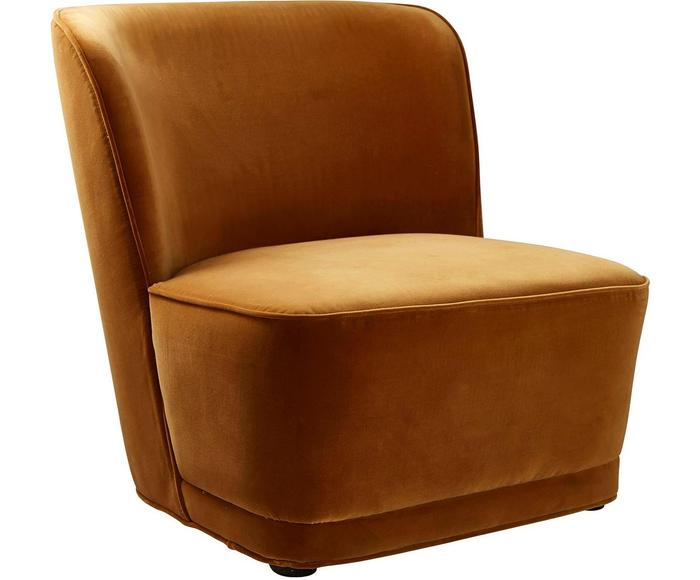 Samt Sessel Harmony Westwing With Images Floor Chair Furniture Chair