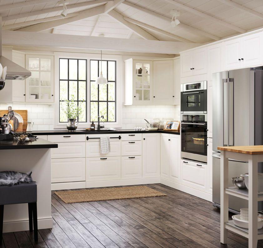 Ikea Kitchen Usa: White Ikea Kitchen, Off White Kitchen Cabinets
