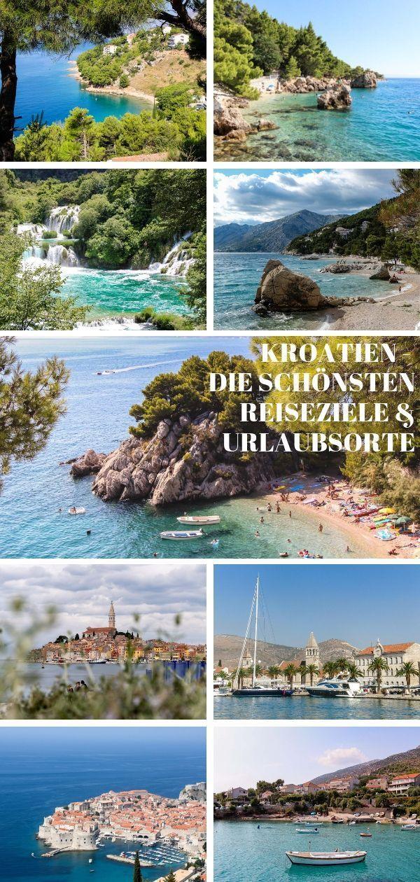 Kroatien die schönsten Reisziele und Urlaubsorte im Land