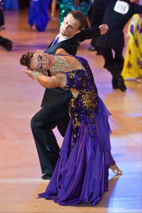 Slavek & Marzena amazing dress for smooth dances