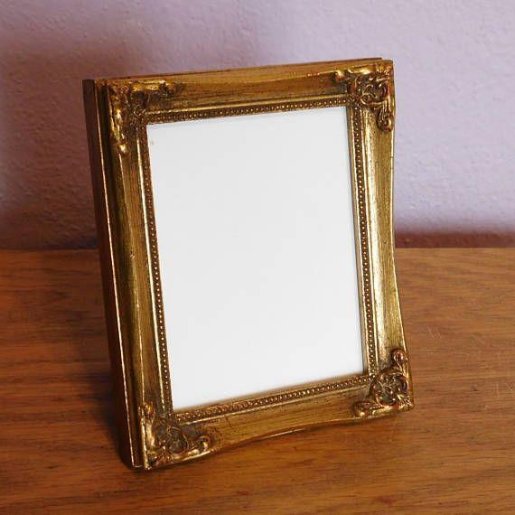 Vintage Hollywood Regency Gold-Painted Picture Frame Burnes ...