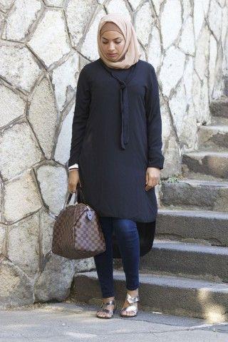 Collection de Longue Tunique - Vêtement fashion pour femme musulmane -  Mayssa 76a13e8a296e