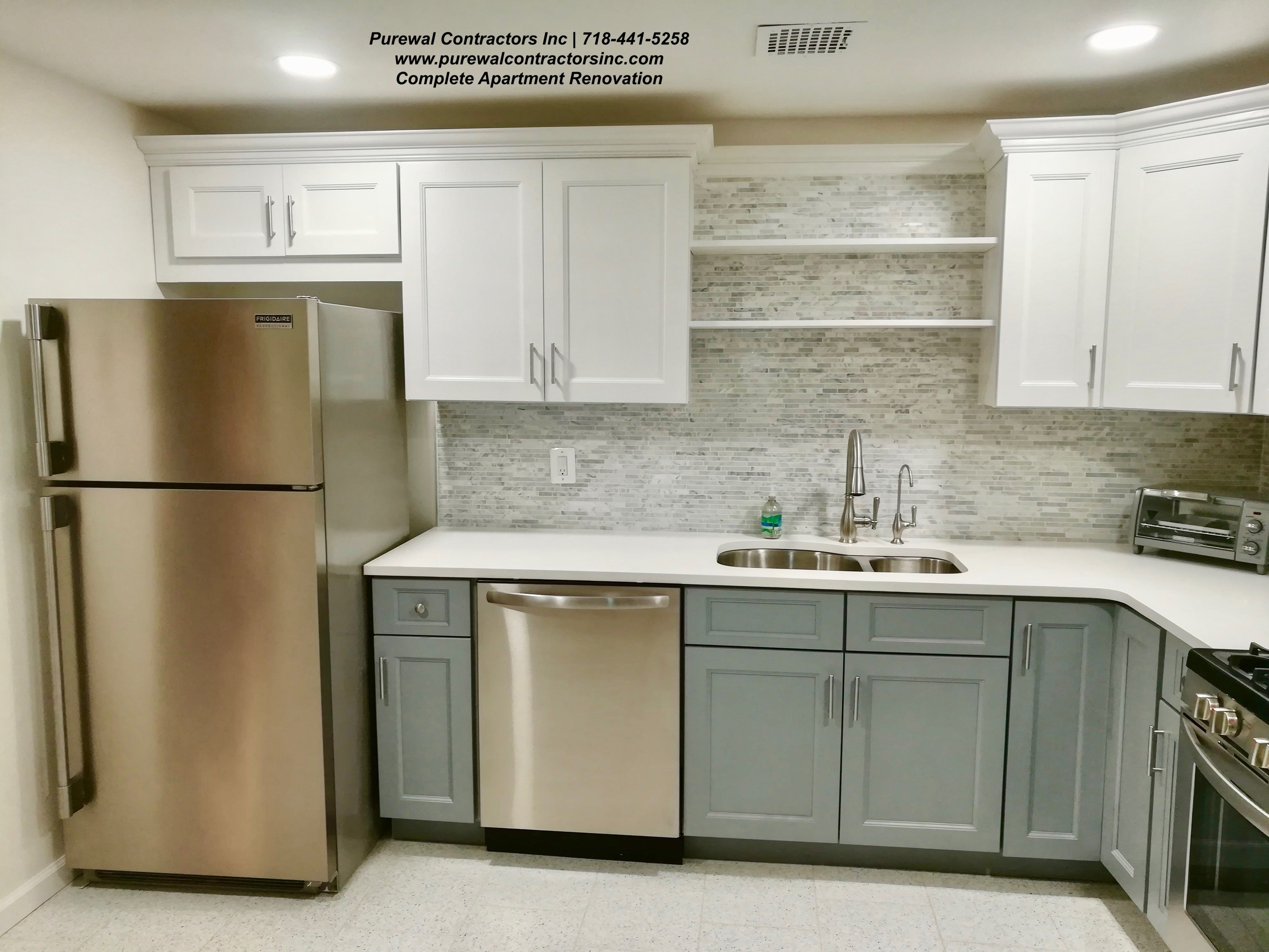 Part Of A Complete Apartment Renovation Purewal Was Able To Also Restore This Kitchen To Its Glory Kitchen Renovation Brooklyn Kitchen Custom Kitchen Cabinets
