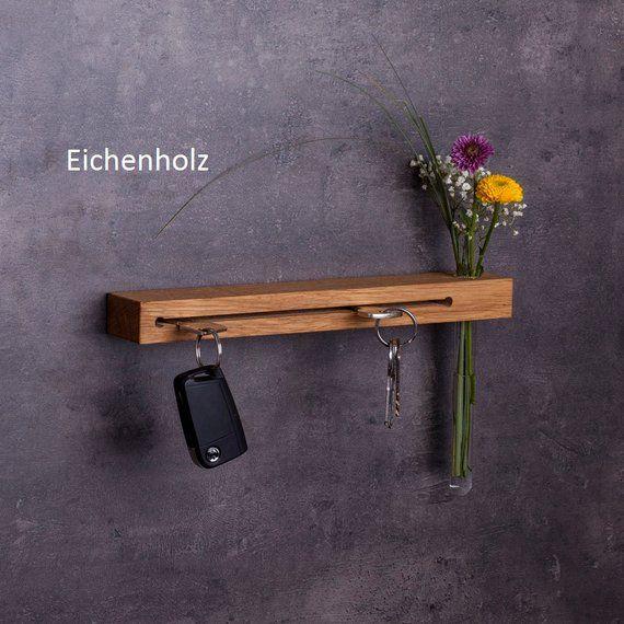 Photo of Tastatur med blomstervase // nøkkelkrok // gaver til kvinner // håndlaget // nøkkelholder