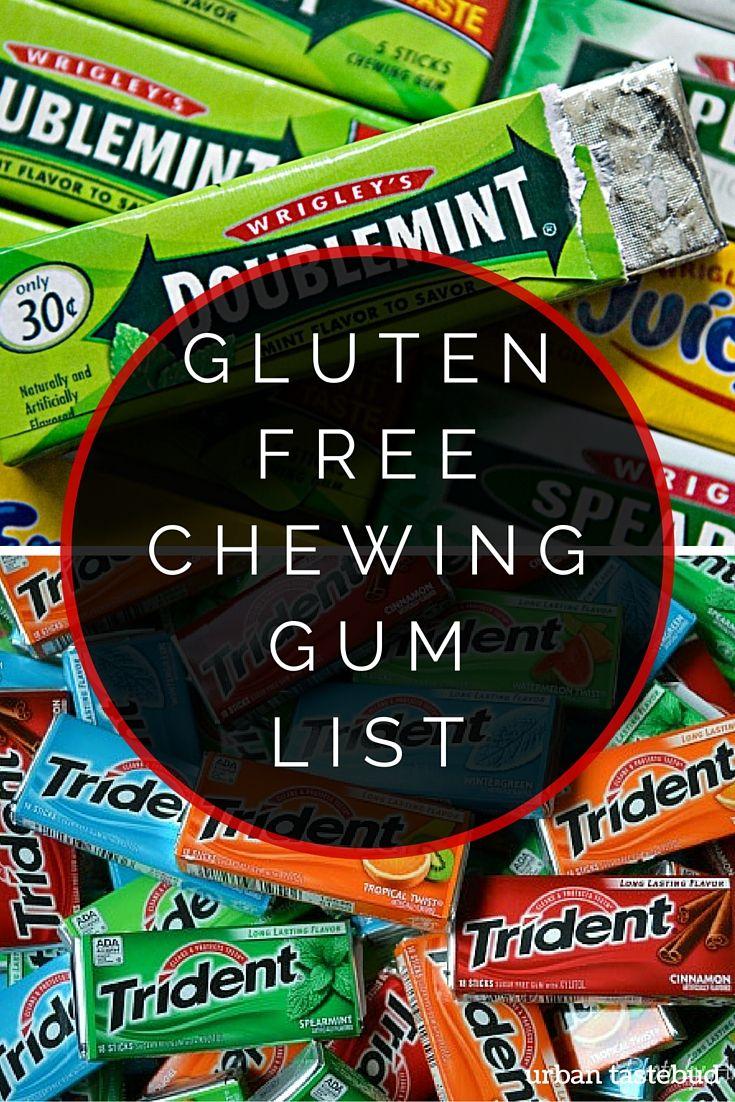 Gluten Free Gum List What To Chew And Avoid Gluten Free Menu