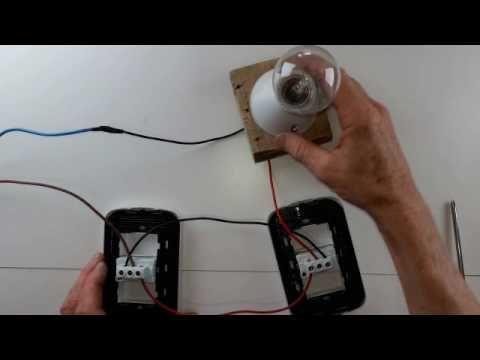 Conectar llave combinada de luz youtube conmutada pinterest electro music - Llaves de luz modernas ...