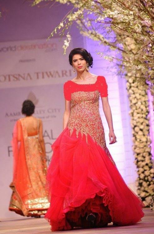 India's Fashion Show Dresses