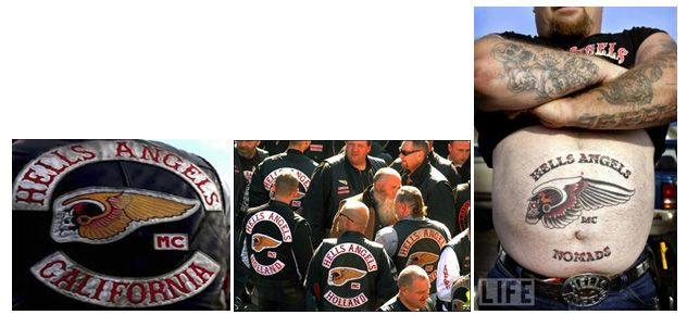 hells angels mc patches meaning